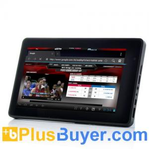 China Marvel - 7 Inch Multitouch Screen Android 4.0 Tablet PC with 1GHz CPU, 1G RAM, WiFi on sale