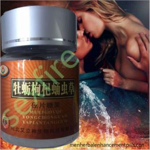 China 100% Natural Supplement With Herbal Enhancement Pills For Male Sex Delay on sale