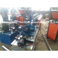 China Metal Stud Cold Roll Forming Machine 3 Phase High Speed Water Resistance on sale