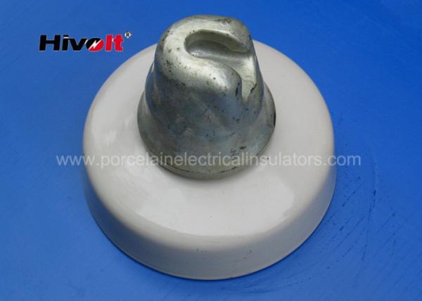 530KN High Voltage Porcelain Insulators Grey Color For 750kV