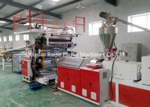 China PVC Lamination Sheet Plastic Board Production Line Wind Resistance Heat Insulation on sale