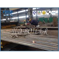 EN Standard Stainless Steel Industrial Water Wall In Boiler With Strict Testing System