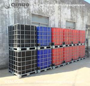 Recycling litre chemical storage totes HDPE IBC tank bulk