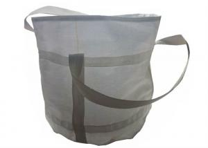 China Anti - Water UV Virgin PP Bulk Bag With Cross Corner Loop / 100% Virgin PP on sale