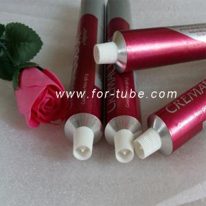 China Empty cosmetic aluminum tube for hair dyeing cream on sale