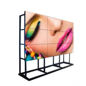 China 700 Nits Flexible LCD Video Wall High Definition 55 Inch SAMSUNG Panel 3x2 Borderless on sale