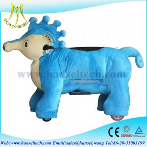 China Hansel Coin Operated Walking Animal Electric Motorized Toy Bike on sale