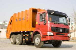 China 15 - 16CBM LHD 4X2 Garbage Compactor Truck With High Pressure System ZZ1167M4611 on sale