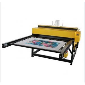 China Machine automatique pneumatique FZLC-D2 de presse de la chaleur pour imprimer le cuir de tissu on sale