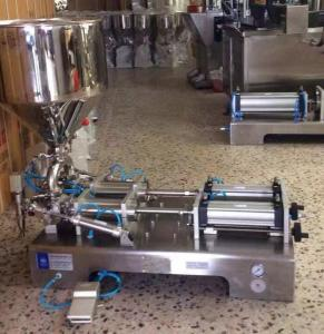 China Semi Automatic Liquid Filling Machine For Paste Cosmetic Cream With Certificate on sale