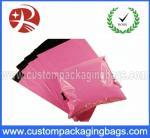 LDPE/HDPE との自己の Adhensive の注文のピンクの膨脹可能な包装