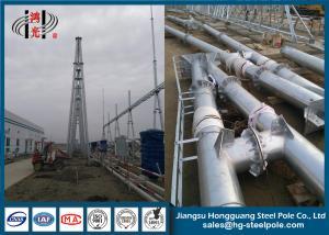 China 500KV structures métalliques galvanisées anti par rouille, tour galvanisée de transport d'énergie d'immersion chaude on sale