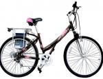трицикл батареи ли-иона 36В специализировал е-велосипед, с 2 колеса нагрузки 3 корзин велосипедом высоких электрическим
