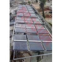 China 60 Tubes ETC Evacuated Tube Solar Collector , Painted Steel Vacuum Tube Solar Collector on sale