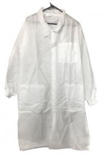 China disposable paper suits disposable plastic body suit waterproof lab coat asbestos on sale
