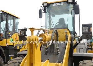 China SDLG wheel loader LG948 with Deutz engine and ZF transmission and pilot control on sale