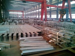 China Hot Dip Galvanized Steel Structure Fabrication / Galvanized steel structure on sale