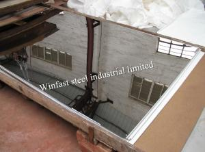 China AISI 304 430 Cold Rolled Stainless Steel Metal Sheet Mirror Finish For Decoration on sale