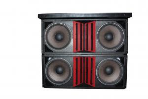 China Dual 15'' Line Array Speaker Outdoor Four Way Line Array on sale