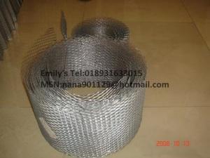 China Galvanziedの煉瓦積みの補強の網の/Expandedの金属の木ずりは/コイルの網を拡大しました on sale