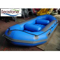 PVC Material Inflatable Life Raft , Rib Rigid Inflatable Boat Quick Deflate Trailer Transported