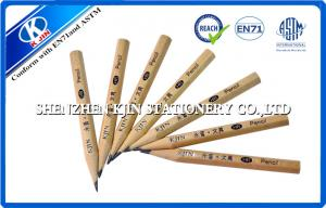 China Recycled Long Graphite Pencil Set / Hexagonal HB pencil 8.8cm wooden pencil set on sale