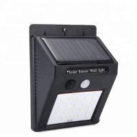 China Warm / Cool White Solar LED Motion Sensor Waterproof Wall Light 3 Years Warranty on sale