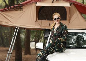 China ABS Material Outdoor Camping Tent On Top Of Car , Car Roof Rack Tent Eco Friendly on sale
