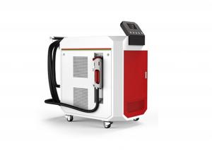China Portable Laser Rust Cleaning Machine , Handheld Glass Sandblasting Machine on sale