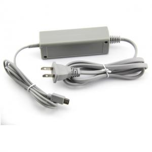China White Color Wii U Gamepad Charger , Wii U Power Supply AC Adapter ABS Material on sale