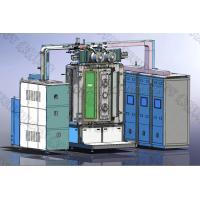 PVD Vacuum Metallizing Equipment on Copper Valves , Plumber Fittings / Chrome Plating Machine