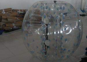 China 1.0mm PVC 1.2m Diameter Kids Inflatable Bumper Ball / Bubble Football Sport Games on sale