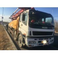 2010 YEAR Second Hand Pump Truck ISUZU-SANY Brand 8×4 Drive Mode With 48m Pump