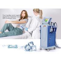 China Cellulite Reduction Cryolipolysis Machine 4 Handpiece Fat Freezing Machine on sale