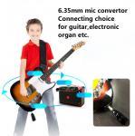 Audio 50m Distance UHF Wireless Guitar Transmitter