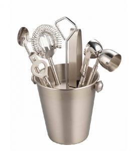 China stainless steel barware sets on sale