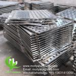 3003 aluminum Building Or Ceiling Perforated Metal Cladding Panels  CNC Turret Punching