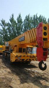 China Used Kato crane 120ton, secondhand crane, on sale