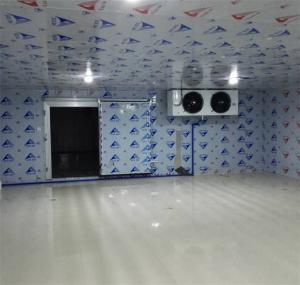 China Good Condensing Unit Walk in Cold Room for Storing Vegetable Ice and Cold Storage Room for  Meat Fish on sale