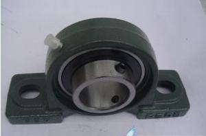 China Metric Insert Pillow Block Ball Bearings UCP201-8 UCP202-9 Cast Iron on sale