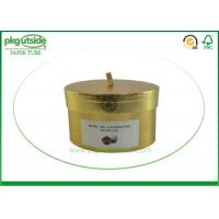 Round Cardboard Candle Packaging Boxes With Lids Paper Tube Candle Holder
