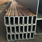 SS400 STKR400 Thin Wall Rectangular Steel Tubing ERW Technique 10-610mm OD