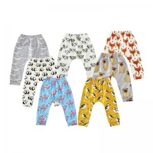 China Custom children new arrival baby dress printing leggings wholesale kids pants on sale