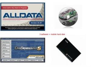 China Alldata Version 10.30 Mitchell V2010 Car Diagnostic Software For Laptop on sale