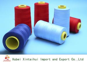 China Strong Polyester Industrial Sewing Machine Thread20/2 Ring Spun Dyed Color on sale