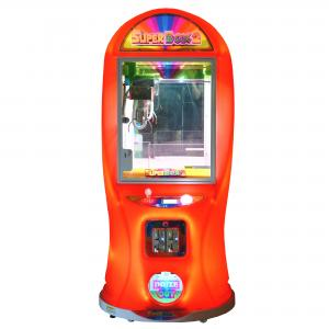 China One Player Super Box 2 Claw Crane Machine / Anti - Shaking Claw Game Machine on sale
