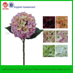 China Venues Decoration Flowers Of Artificial Hydrangeas on sale