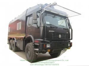 China HOWO All Wheels Drive  Off Road 6X6 Anti-riot Police Water Cannon Truck Customizing on sale