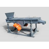 China Max 400mesh two vibrating motor linear vibration sieve for granular mateiral sorting and grading on sale