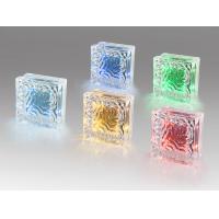 Best Service Waterproof Glass Led Solar Brick Paver Light Led Solar Ice Brick Light